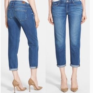 PAIGE Jimmy Jimmy Crop Jeans In Quincy Wash